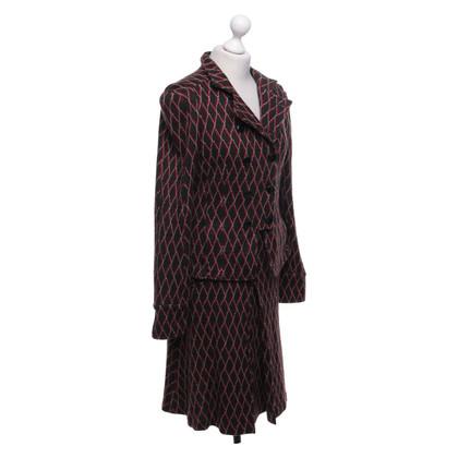 Diane von Furstenberg Costume con motivo
