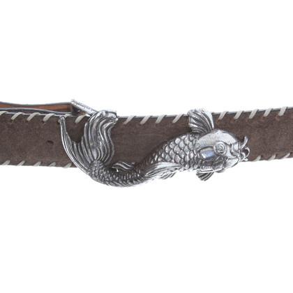 Reptile's House Cintura con fibbia originale
