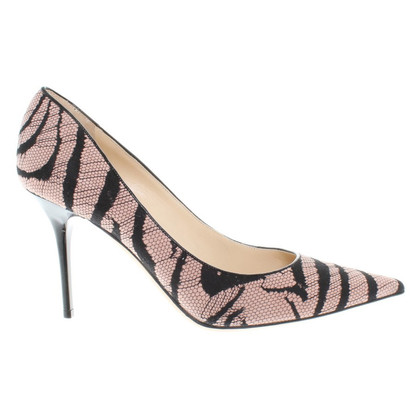 Jimmy Choo pumps in the zebra look