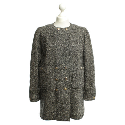 Chanel Jacke in Schwarz/Weiß