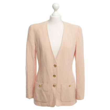 Chanel Blazer in Apricot
