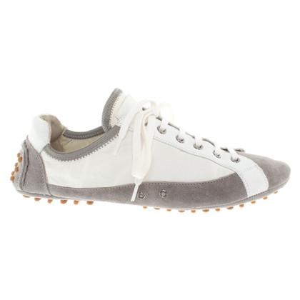 Car Shoe Sneaker in grigio / bianco