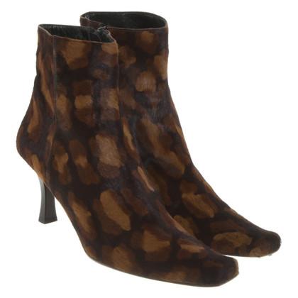 Sonia Rykiel Bottes en motif léopard