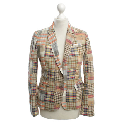 J. Crew Blazers with check pattern