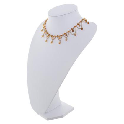 Christian Dior Catena con pietre preziose