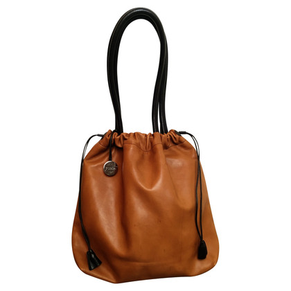 Furla Leather bag with drawstring