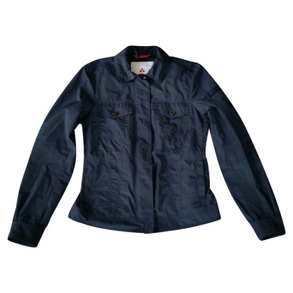 Peuterey Vest in blauwe polyester
