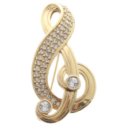 Christian Dior Clef motief broche
