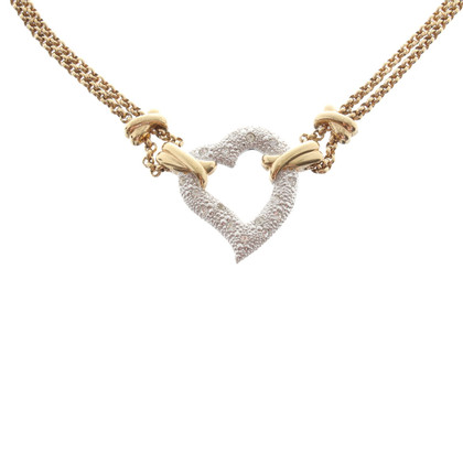 Christian Dior Chain with heart pendant
