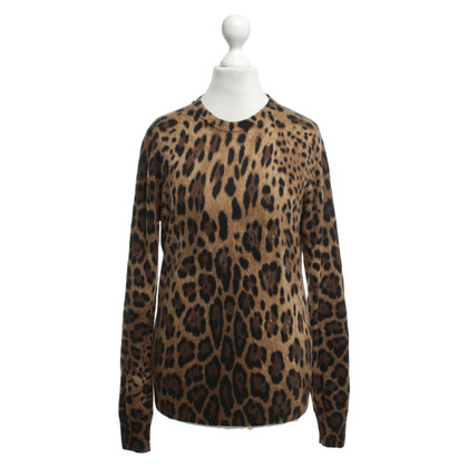 Dolce & Gabbana Cashmere sweater with print