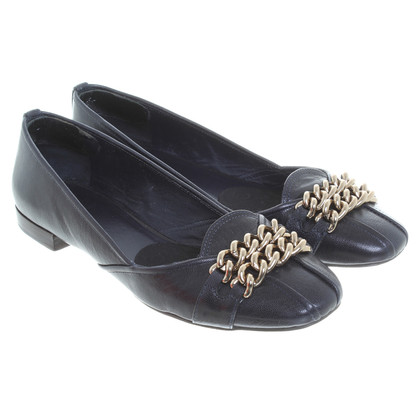 Tory Burch Ballerinas in dark blue