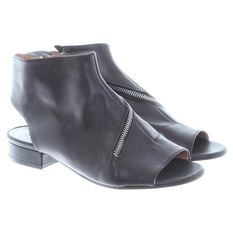 maison martin margiela sandaletten in schwarz second. Black Bedroom Furniture Sets. Home Design Ideas