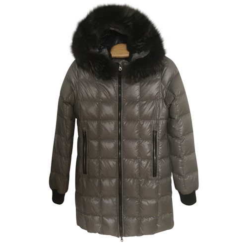 sale retailer 338e7 59411 Duvetica Long down jacket - Second Hand Duvetica Long down ...