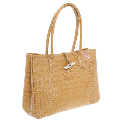 Longchamp Handtasche in Senfgelb