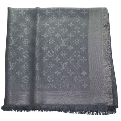 Louis Vuitton Monogram-shine doek in antraciet