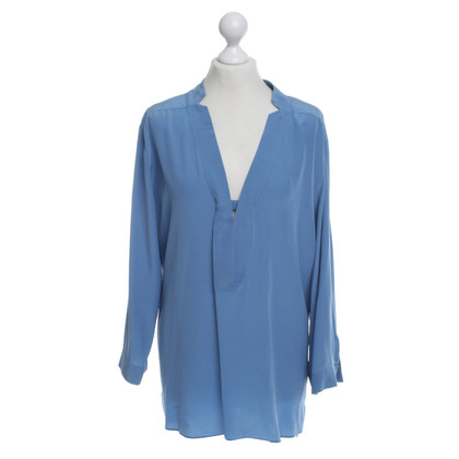 Dorothee Schumacher Blue blouse in silk