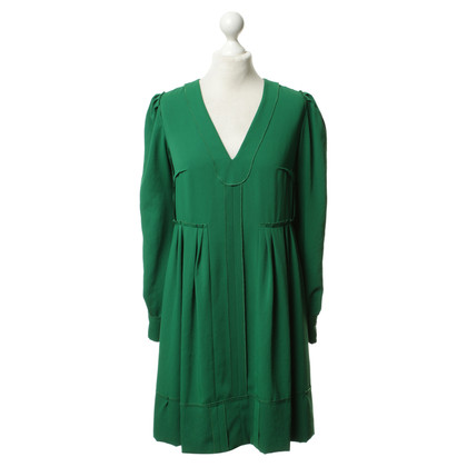 Sonia Rykiel Inside-out dress in green