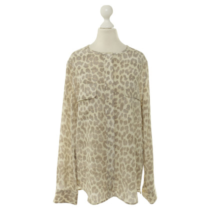 Equipment Zijde blouse in de Animallook