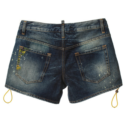 Dsquared2 Kurze Jeans im Used-Look