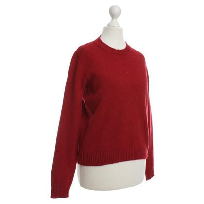 Etro Maglione di lana in rosso