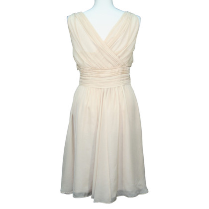 L.K. Bennett zijden jurk beige