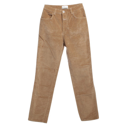 Closed Pantaloni di velluto trim