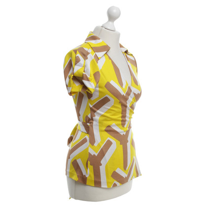 "Diane von Furstenberg Wrap-around blouse ""Jilda Top"""