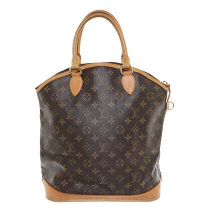 "Louis Vuitton Tote Bag ""Lockit Monogram Canvas"""