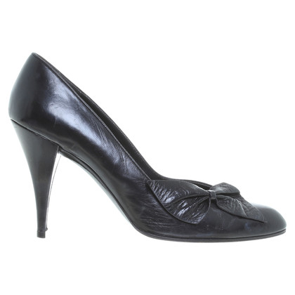 Other Designer Charles Jourdan - leather pumps in black