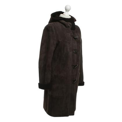 Windsor Cappotto di montone in marrone