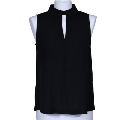 French Connection Black blouse with a collar