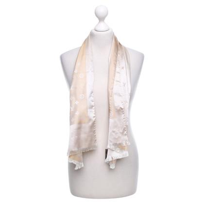 Louis Vuitton Silk scarf in cream
