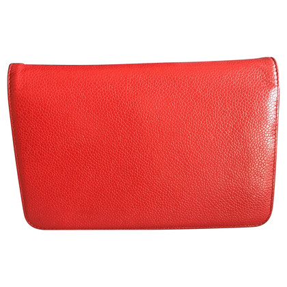 Chanel WOC Wallet on a chain red