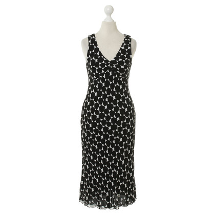Hobbs Dress in black and white