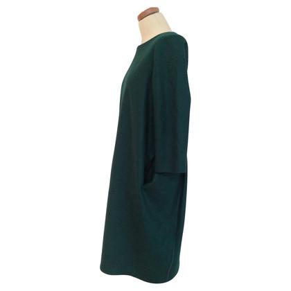 Jil Sander Midi-Kleid aus Wolle