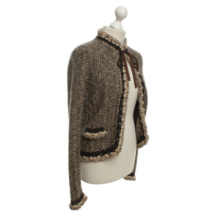 Chanel Cardigan in Crema / Marrone