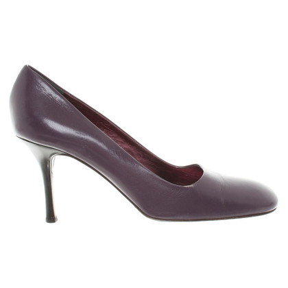 Giuseppe Zanotti Leatherpumps in violet
