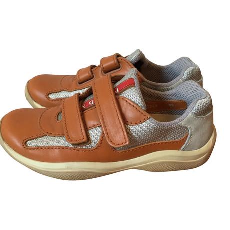 Prada Sneakers Orange