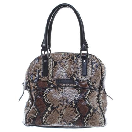 Longchamp Python patronen tas