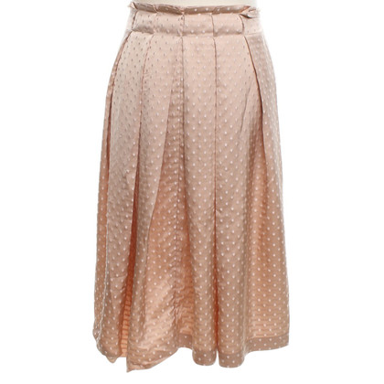 Moschino Cheap and Chic Jacquard skirt with points