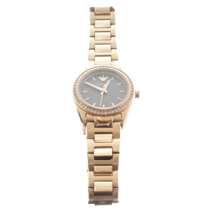 Armani Rosé gold watch