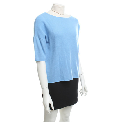 360 Sweater Kaschmir-Pullover in Hellblau
