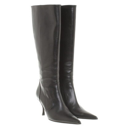 Dolce & Gabbana Black leather boot