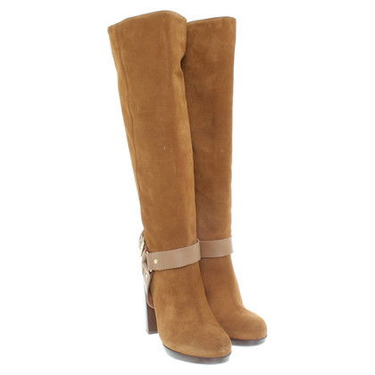 Kurt Geiger Brown suede boots