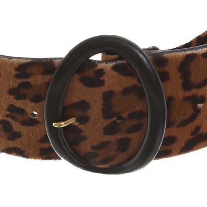 Ralph Lauren Belt with leopard pattern