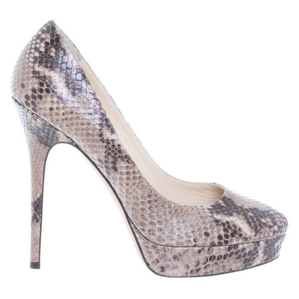 Jimmy Choo Pompa rettile in rilievo