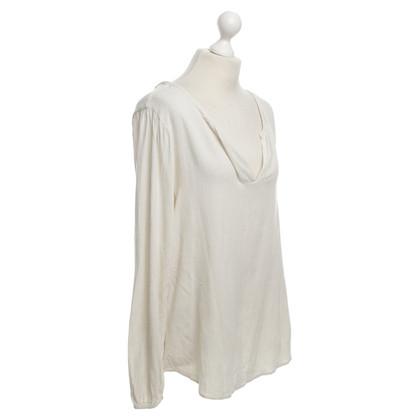 Velvet Blusa in crema