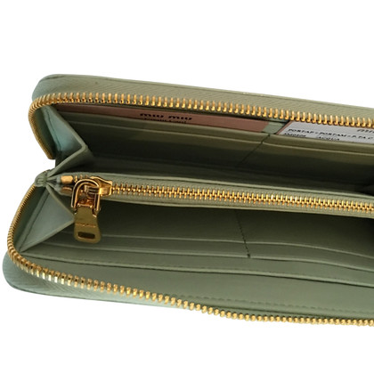 Miu Miu Patent leather wallet