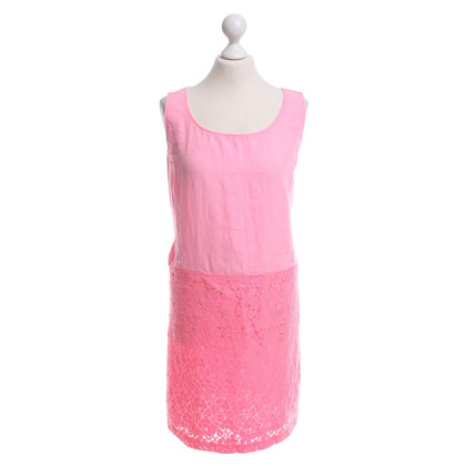 Andere Marke 0039 Italy - Leinenkleid in Pink