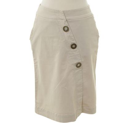 Schumacher skirt with decorative buttons